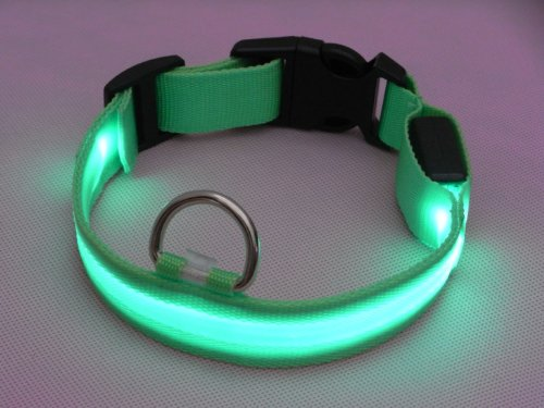 2014 Wholesale China Various Color Flashing Light LED Dog Collar