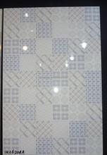 Cor azul e branco mosaico projeto 300 x 450 mm 3D impressão a jato de tinta azulejos e decoração para sala de estar