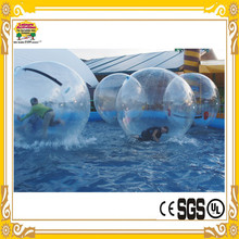 2015 Hot Sale Leisure Activities Stock 2m DIA Inflatable Water Walking Ball Inflatable Toys