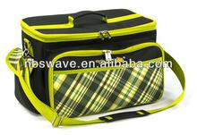 New design Large BBQ insulated picnic bag basket set