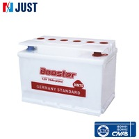 Supplier Dry Cell Charged German automobile 12V batteries for factories