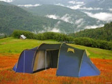 Contemporary unique 2015 outdoor camping tent for 5 man