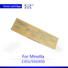 High quality TN411 toner cartridge compatible for Minolta C451 550 650