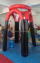 Venda quente inflável cesta quadro
