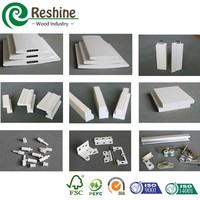 PVC material vinyl plantation plantation shutter parts