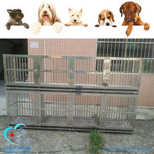 Cheap Double Layer Stainless Steel Dog Cage