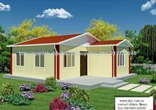 lujo casa prefabricada nuevo diseño de la casa prefabricada
