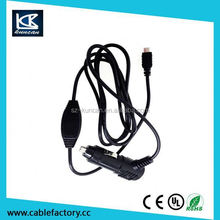Tablet car adaptor dc 12v-24v input car charger
