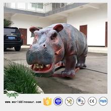 Real Size Garden Hippo for Christmas