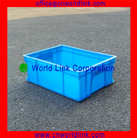 450 China Popular Transport Used Plastic Crate Box For Vegetable