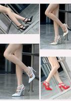 Туфли на высоком каблуке  ENW4-18