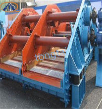 High frequency linear vibrating screen