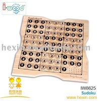 Wooden best Sudoku chess game set Producer children toy