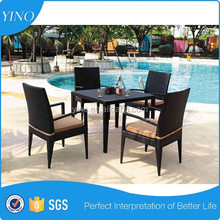 NEW Wicker Outdoor Furniture Setting Dining Table & Chairs RB369