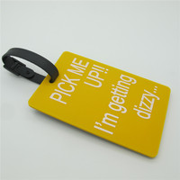 Hot promotional fancy luggage tag