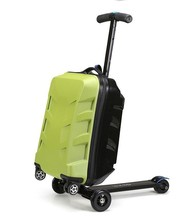 hot selling changeable China supplier pc abs carry-on business luggage