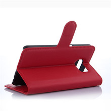 high quality case folio cover for Samsung S5 6 6Edge with high quality PU and leather case