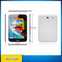 7.85 pulgadas de pantalla LCD - Google Android 4.2.2 MTK8312 Dual core, 3 G de la tableta llamada telefónica móvil juegos descargar