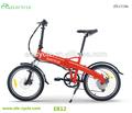 36v 250w más pequeño motor eléctrico plegable bicicleta eléctrica para la venta