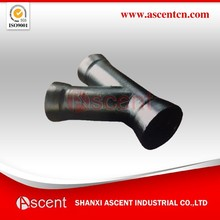 45 Degree Y Tee Ductile Iron Pipe Fittings Made in China