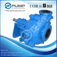 Best price rubber liner acid heavy duty slurry pump steel base flow pump