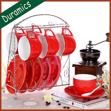 New arrival ceramic tea set and coffee cup and saucer