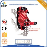 Zoom Alloy Red Hydraulic Disc Brake For Road Bicycle