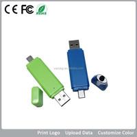 Micro SD Card Reader Usb Drive/Plastic OTG USB Flash Memory/Promo Stylus Pendrive