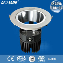 Quick Delivery!!! Focus on EU/AU market PF>0.92 CRI>0.83 CE/ROHS/SAA Listed led crystal downlight