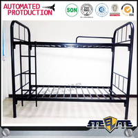 Best sell latest double bed designs metal bed frame