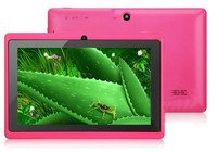 2015 7inch touch screen dual core Q88 tablet pc china manufacture price free shipping