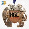 new design high quality custom 3d metal medal