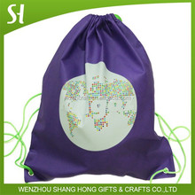 Soccer Football Team Gym Sack Back Pack Drawstring Shoe Bag
