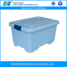 keyway plastic storage box with lock with handle