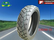 100% new pattern motorcycle tyre tire manufacture 130/60-13 in China