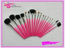 Beauty needs synthetic makeup brushes 18pcs for artist use wholesale
