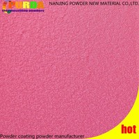 Racing Pink Texture Teflon Powder Coating
