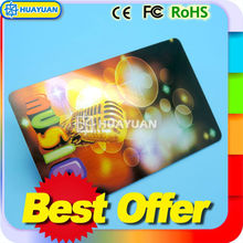 High frequency NFC ISO18092 NTAG216 Smart NFC Metal Business Card for rewards and loyalty systems