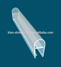 pvc profil de douche en verre joint de porte bande de joint de douche écran