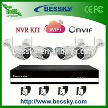 diy security camera kit,wireless mini camera,easy installation 4ch wifi nvr kits cctv kits