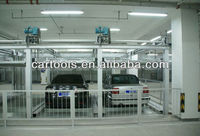 Motor drive steel structure for parking system