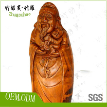 China folk art crafts bamboo root carving for collection