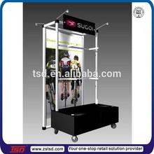 TSD-M296 wholesale metal hanging sport bicycle display rack/promote mountain bicycle display stand/sport store bicycle display