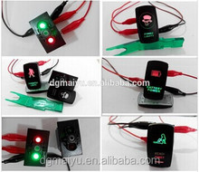 LASER CARLING BACKLIT DUAL COLORS LED NAV/ANC BOAT ROCKER SWITCH ON-OFF WATERPROOF MARINE ELECTRICAL