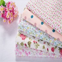 Fabric and textile flowers cotton woven wholesale