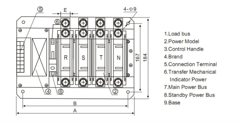 4 Pole Transfer Switch Wiring - Electrical Work Wiring Diagram •