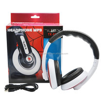 factory price high quality Rotatable and retractable bass headphones with mic