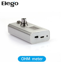 Wholesale e cigarette Cartomize/atomizer ohm meter, ohm meter for 510/ego tanks