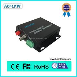 1 channel & 1 channel reverse 485 control data digital fiber optic cctv video converter PRICE