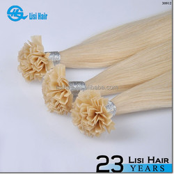 Hot Selling Wholesale Top Quality Remy Hair 1g Keratin Glue No Tangle No Dry 0.7g/strand v- tip human hair extensions
